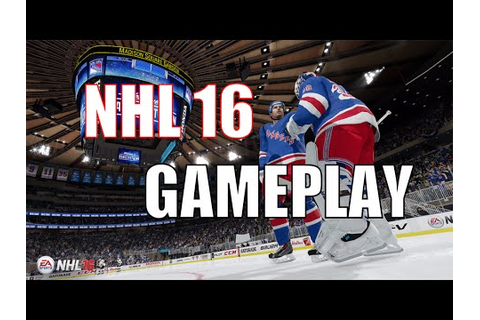 NHL 16 EASHL GAMEPLAY *FULL GAME* - YouTube