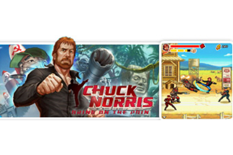Chuck Norris: Bring on the Pain cell-phone game by GameLoft