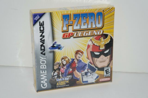 F-Zero GP Legend (Nintendo Game Boy Advance, 2004) | eBay