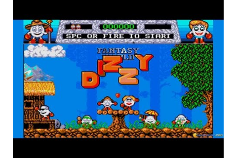 Dizzy: Fantasy World of Dizzy gameplay (PC Game, 1989 ...