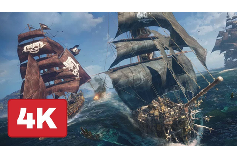 23 Minutes of Skull and Bones Gameplay in 4K - E3 2018 ...