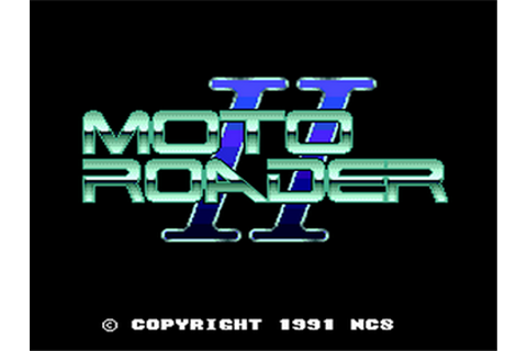 Moto Roader II Details - LaunchBox Games Database