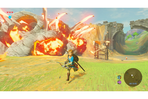 The Legend Of Zelda Breath of the Wild To Be Out In March ...