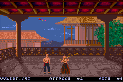 Chambers of Shaolin (1989) by Thalion Atari ST game