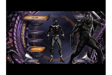 Create DCUO: Make the Perfect Marvel Movie Black Panther ...