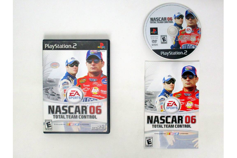 NASCAR 06 Total Team Control game for Sony PlayStation 2 ...