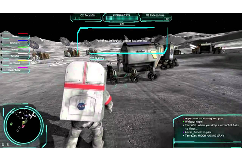 Moonbase Alpha: The Astronaut Chronicles - YouTube