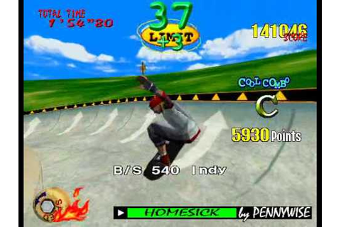 Sega Model 2 - Top Skater - YouTube
