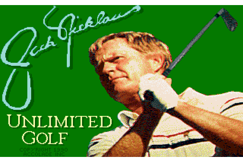 Jack Nicklaus' Unlimited Golf & Course Design (1990) by ...
