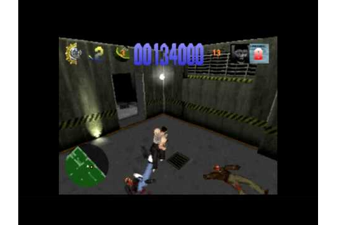 Die Hard Trilogy Gameplay (PS1) - Die Hard 1 - Level 1 ...
