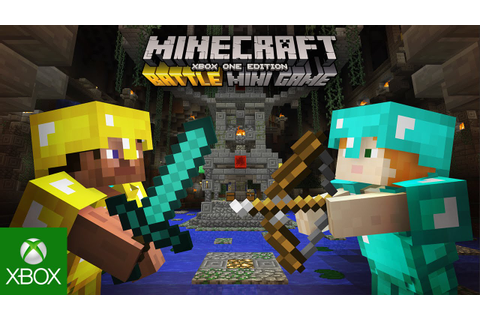 Minecraft Battle mini-game now available on consoles
