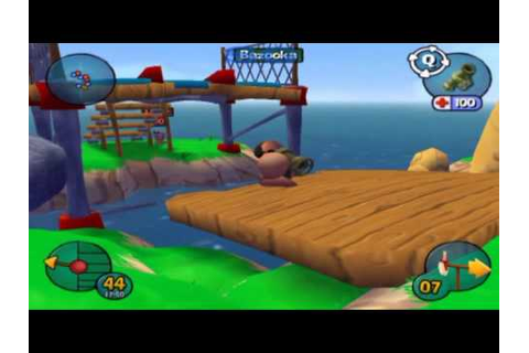 Worms 3D -Gameplay 1- - YouTube