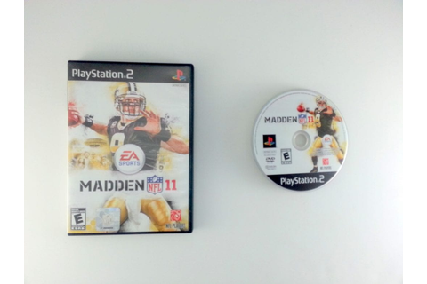Madden NFL 11 game for Playstation 2 | The Game Guy