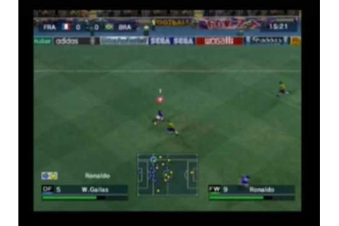 Virtua Pro Football [Playstation 2] Gameplay Part 1 - YouTube