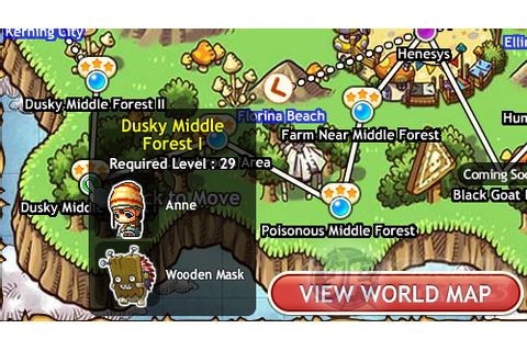 MapleStory Adventures: Perfect Disguise Guidebook Location ...