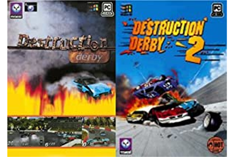 Destruction Derby 1 & Destruction Derby 2 (PC): Amazon.co ...