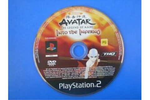 AVATAR THE LEGEND OF AANG INTO THE INFERNO - Sony PS2 ...