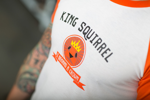 Squirrel King - Insert Coin Clothing