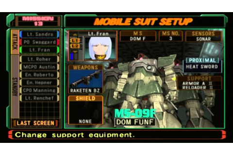 Let's Play Mobile Suit Gundam: Zeonic Front (Part 10 ...