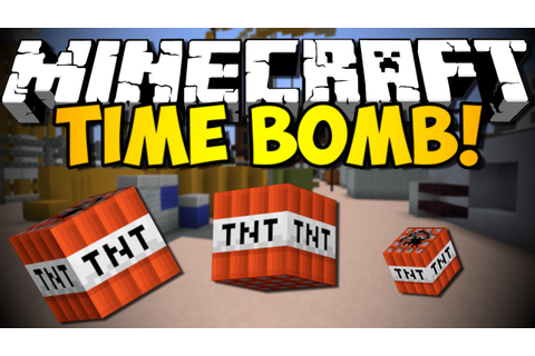 Minecraft - Time Bomb Game w/ iHasCupquake & Redb15! (HD ...