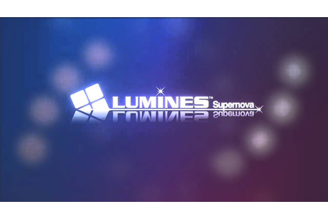 LUMINES Supernova - new clear - YouTube