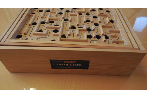 Two Ball Brio Labyrinth Game/Wooden Marble Maze - First ...