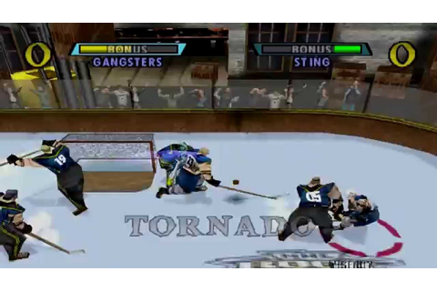 NHL Rock the Rink Arcade Gameplay (PlayStation,PSX) - YouTube