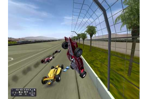 indycar series game - YouTube