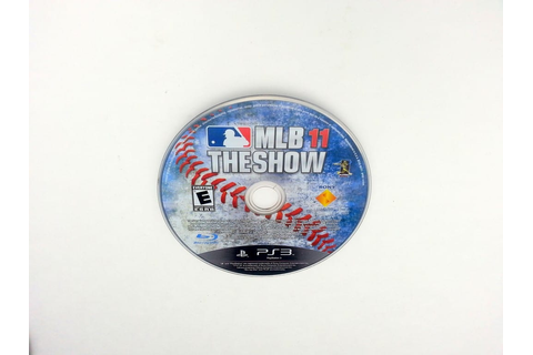 MLB 11: The Show game for Sony Playstation 3 PS3 - Loose ...