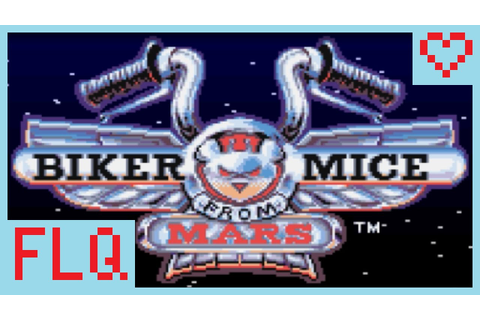 【Biker Mice from Mars】Squiggy's SNES First Level Quest ...