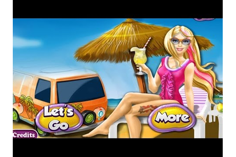 Baby Games For Kids - Barbie Superhero Beach Vacation ...