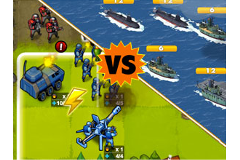 Facebook Game Faceoff: Empires & Allies vs Army Attack ...
