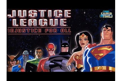 Justice League: Injustice For All - Terrible GBA Gameplay ...