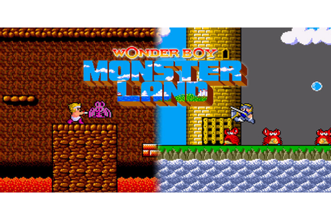 Wonder Boy in Monster Land | Arcade | Games | Nintendo