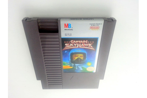 Captain Skyhawk game for NES (Loose) | The Game Guy