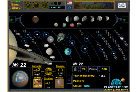 Electronic Game School: Saturn Ring Puzzle