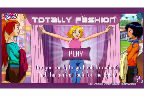 Totally Spies | Totally Fashion | Game | Nick-Asia.com