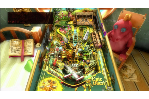 Classic Game Room - EPIC QUEST pinball table for Pinball ...