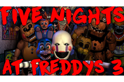 Five Nights At Freddys 3: Is It In The Works? Scott Games ...