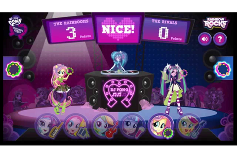 [MLP:FiM] Equestria Girls: Battle of the Bands [Gameplay ...