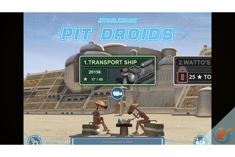 Star Wars Pit Droids - iPhone Game Trailer - YouTube