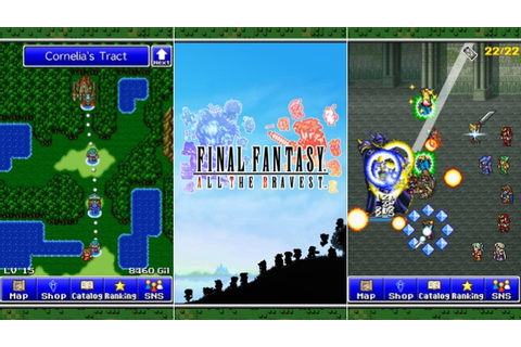 It's Official: Final Fantasy All The Bravest Comes To iOS ...