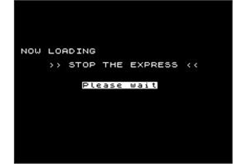 Stop the Express - Sinclair ZX Spectrum - Games Database