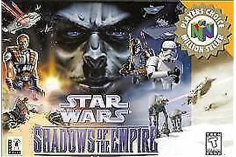 Star Wars Shadows of the Empire Nintendo 64 N64 OEM Video ...
