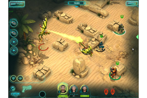 Sci-fi turn-based strategy game X-Mercs: Invasion will ...