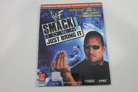 WWF SMACKDOWN: JUST BRING IT OFFICIAL STRATEGY GUIDE ...