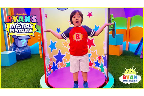 Ryan's First TV Show! Ryan's Mystery Playdate! - YouTube