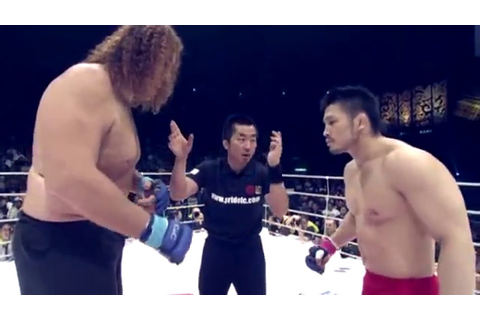 Top 5: Pride FC MMA Freakshow Fights Highlight HD 2016 ...