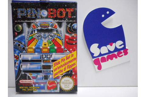 Pin Bot - Save Games