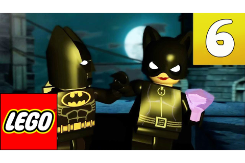 LEGO: Batman The Video Game - Part 6 - Catwoman - YouTube